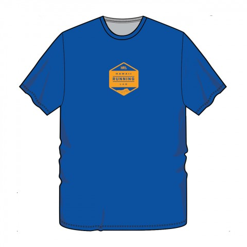 Men's Blue-Yellow Front T 1300