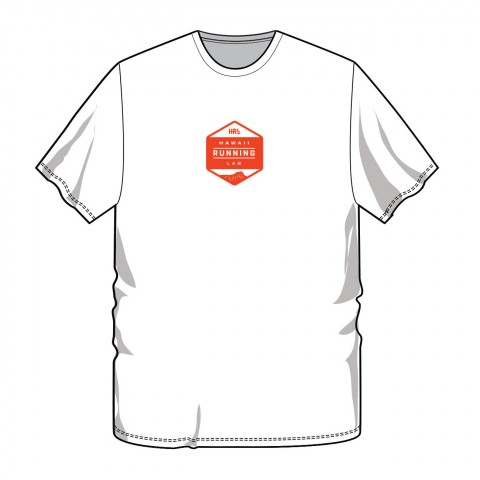 Men's White-Red Front T 1300