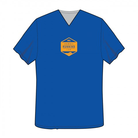 Women's Blue-Yellow Front T 1300